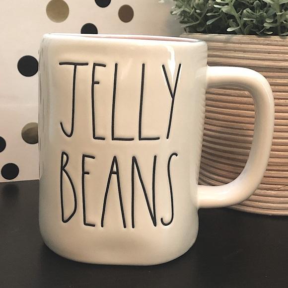 Rae Dunn JELLY BEANS ceramic mug
